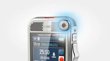 Philips Pocket Memo DPM8100 3D-Mikrofon