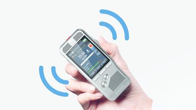 Philips Pocket Memo DPM8100 Bewegungssensor