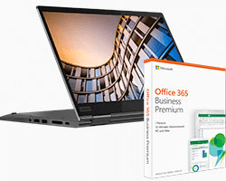 ThinkPad X1 Yoga + Office 365 Business Bundle Paket im Angebot