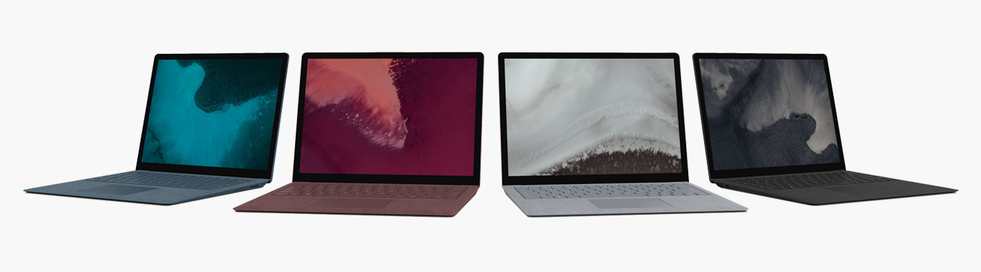 Microsoft Surface Laptop und Microsoft Surface Laptop 2