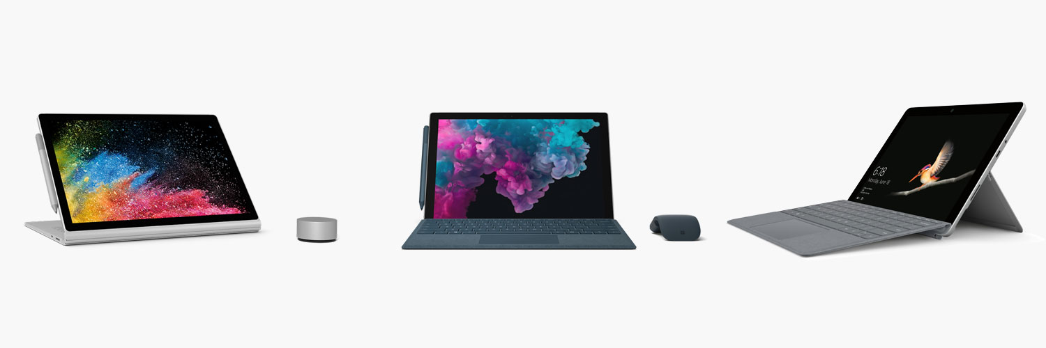 Microsoft Surface Tablet Family