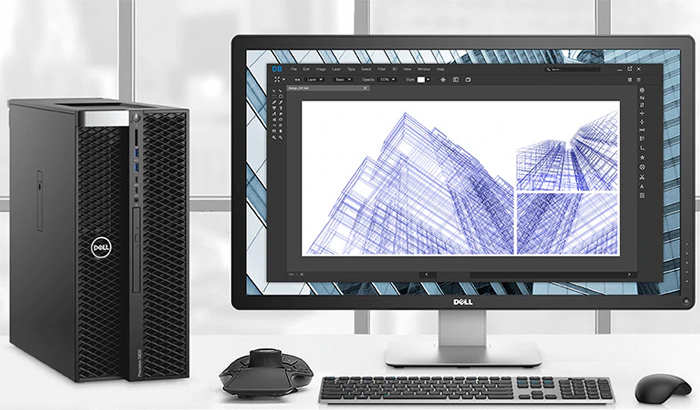 Dell Precision 5000 Workstations - mobile Workstations mit Top 5K Display