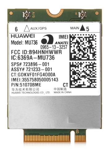 HP Inc. HP hs3110 Drahtloses Mobilfunkmodem - 3G WWAN E5M76AA