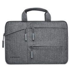 """Satechi Water-Resistant Laptop Carrying Case + Pockets 13"""" - ST-LTB13 Laptop Tragetasche wasserfest grau für bis zu 13,3 Zoll große Geräte"""