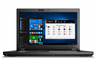 Lenovo ThinkPad P52 20M90029GE Frontansicht
