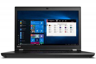 Lenovo ThinkPad P73 20QR002DGE mit Windows 10 Pro und Intel Performance Tuner