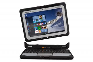 Toughbook 20 Detachable CF-20 CF-20GV001TG - Frontansicht