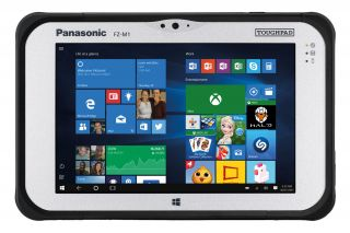 Panasonic Toughbook M1 mk3 FZ-M1JAAAET3 - Full Rugged Tablet mit LTE Frontansicht
