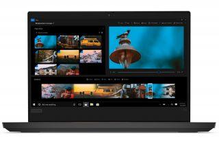 Lenovo ThinkPad E14 20RA001MGE - Schwarz