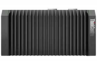 Lenovo ThinkCentre M90n IoT Nano PC 11AH000386 Ansicht von oben mit Riffeln zur Kühlung