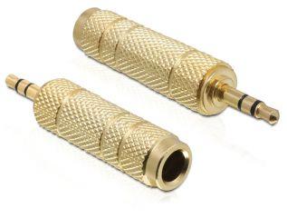 DeLOCK Klinke 3,5 mm > 6,35 mm 3 Pin