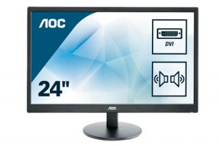 AOC E2470SWDA Monitor 24 Zoll