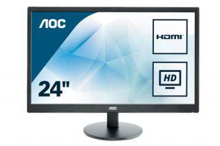 AOC E2470SWHE Monitor 24 Zoll