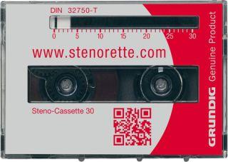 Grundig Steno-Cassette 30 (5er Pack)