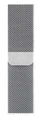 Apple Milanaise Armband 44mm | Silber
