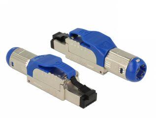 DeLOCK RJ45 Plug field assembly Cat.8.1