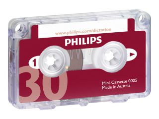 Philips PocketMemo Mini-Kassette LFH0005 - 10er Pack