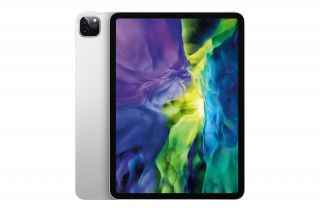 Apple iPad Pro 11 Zoll, 2020, 4. Generation, Silber, Modell MY252FD/A