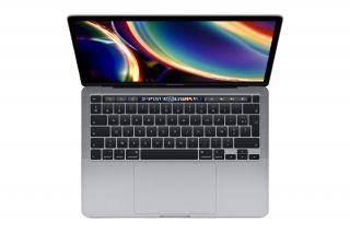 Apple MacBook Pro 13'' 2020 Space Grau mit Touch Bar und Magic Keyboard