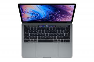 Apple MacBook Pro 13 Zoll mit Touch Bar - 4 x Thunderbolt 3 Anschlüsse - Space-Grau
