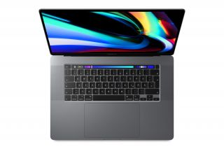 Apple MacBook Pro 16 Zoll mit Touchbar in Space Grau - Tastatur