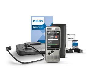 Philips PocketMemo Diktier- und Transkriptionsset DPM6700