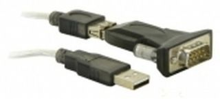 DeLock USB 2.0 Typ-A > 1 x Serial DB9 RS-232