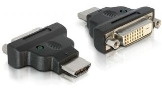 DeLOCK HDMI male > DVI-25pin female LED