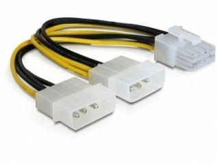 DeLOCK Netzkabel 8-Pin PCIe Power > 4-Pin