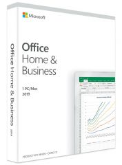 Microsoft Office Home and Business 2019, Spanisch, Mac, PC