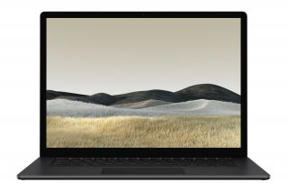 Microsoft Surface Laptop 3 PKU-00025 - Mattschwarz -Metall - Front