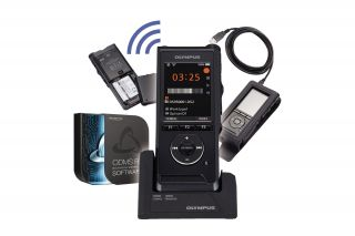 Olympus Digitaler Voice Rekorder DS-9500 Premium Kit