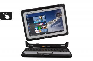 Panasonic Toughbook CF-20 mk1 vollrobustes 2-in-1 Tablet (Tastatur nicht im Lieferumfang)