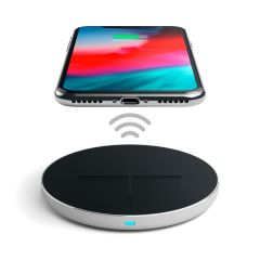 Satechi Aluminum PD & QC Wireless Charger | Silber