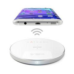 Satechi Wireless QI Charging Pad | Silber