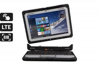 Toughbook 20 Detachable CF-20 CF-20EV002TG - Laptop mit abnehmbarer Tastatur und Touch, LTE, Barcodescanner