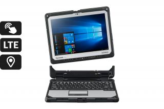 Toughbook CF-33 Detachable CF-33AEHADTG - Tablet dockt an Tastatur an