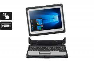 Toughbook CF-33 Detachable CF-33AEHFZTG - Laptop mit abnehmbarer Tastatur, Touch, Serial Port