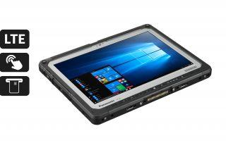 Panasonic Toughbook 33 mk1 CF-33LEHGBT3 - Anschlüsse unten mit Port Replikator, Tablet ohne Tastatur
